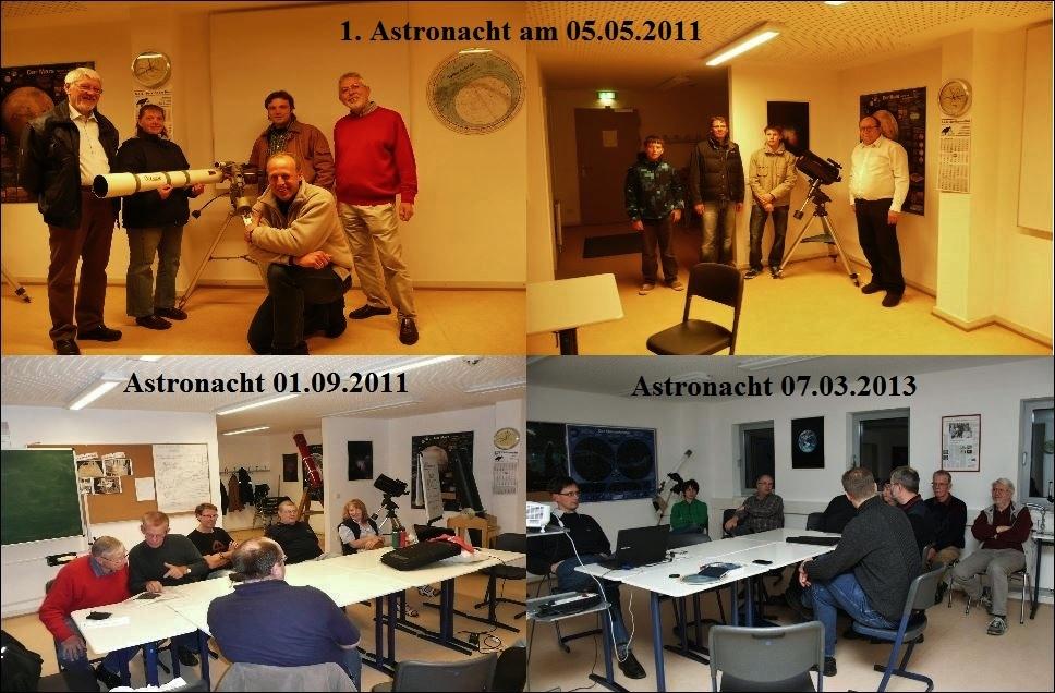 Astronächte Bilder 05.05.und 01.09.2011,07.03.2013
