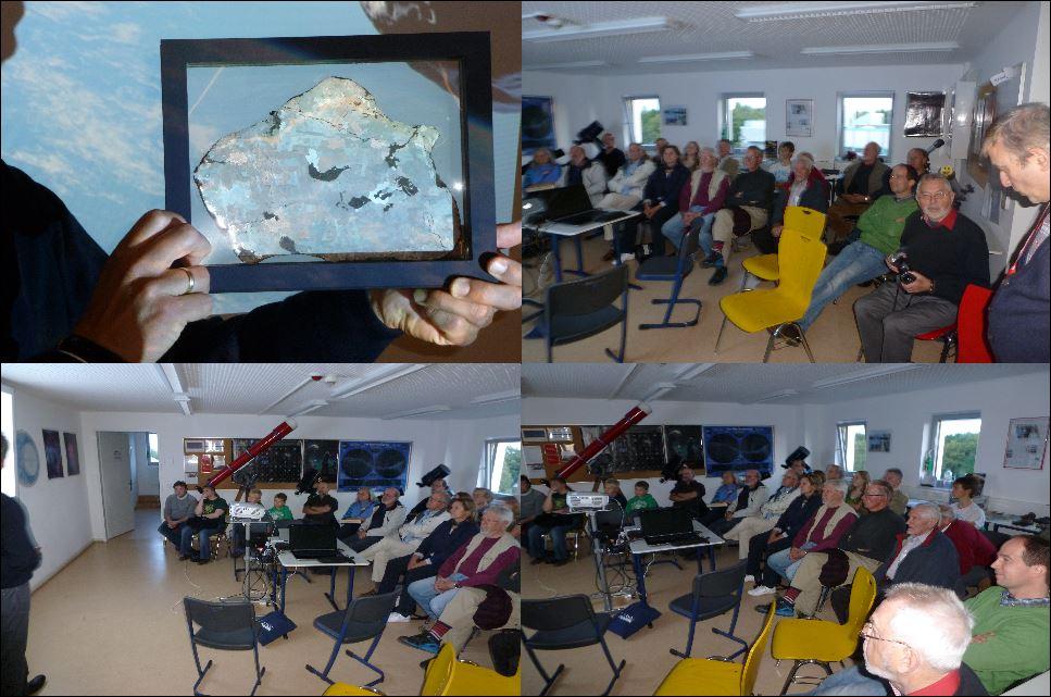Bilder Meteoriten Vortrag am 03.10.2013