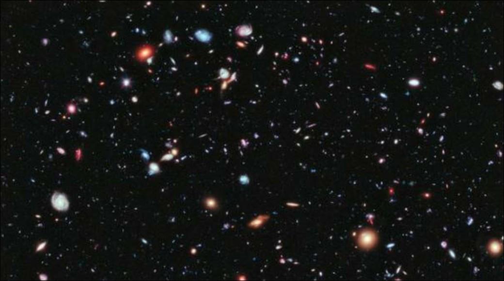Hubble XDF 5500 Galaxien bis 13,2 Lj