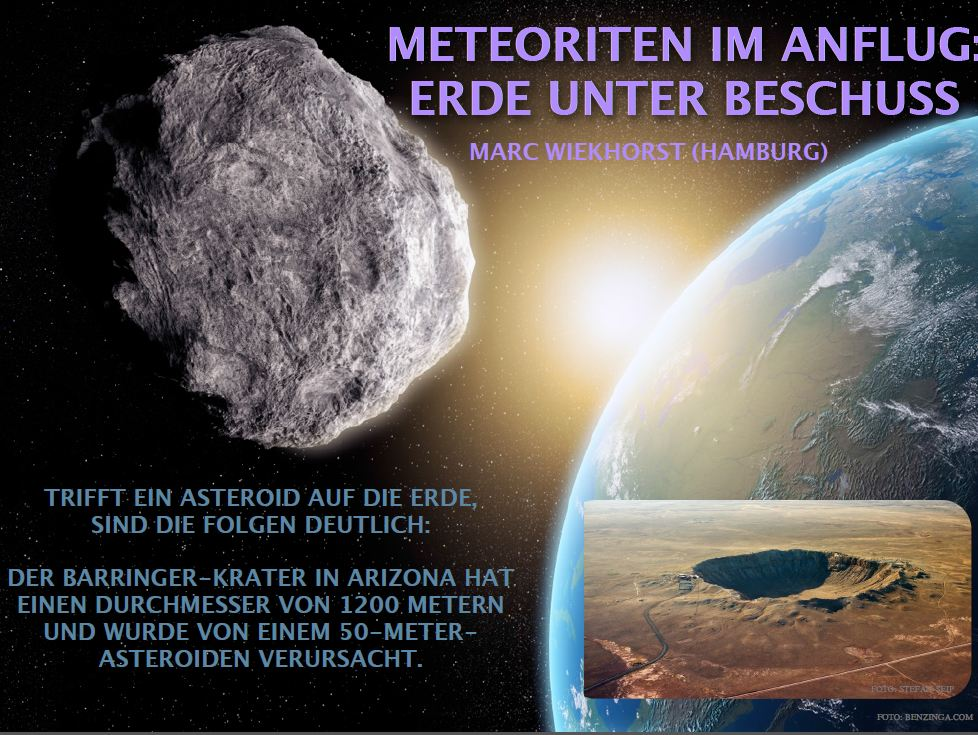 Meteoriten Einschläge