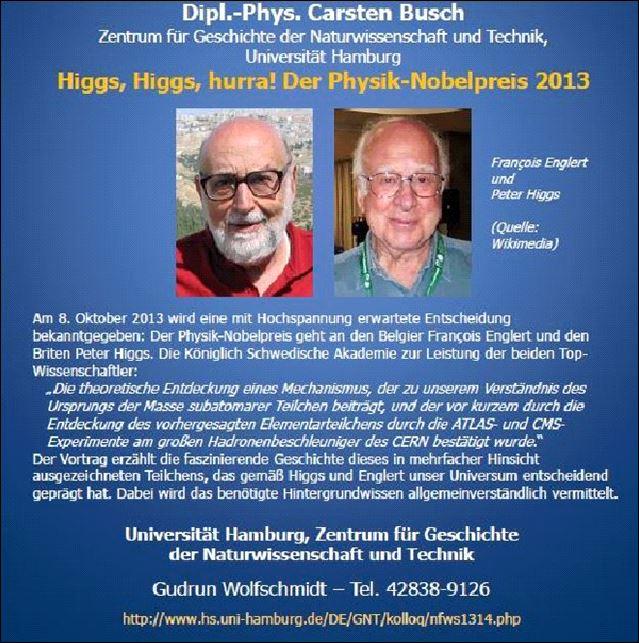 Nobelpreis Träger 2013
