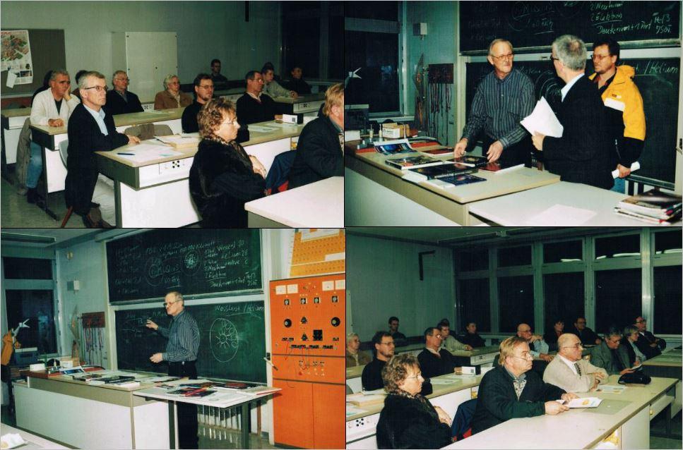 Vorträge Sternentstehung-Sternentod am 29.11.und 06.12.2001