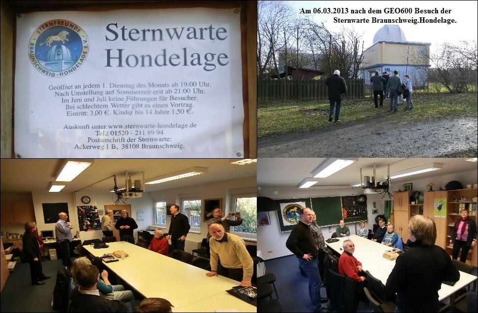 1-Besuch bei der Sternwarte Hondelage am 06.03.2013