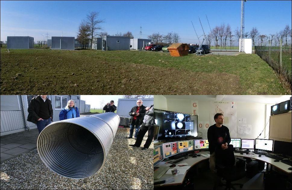 2-Besuch beim GEO 600 in Hannover am 06.03.2013