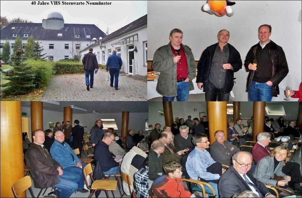 40 Jahre Sternwarte Neumünster und First Light 19 Zoll Teleskop Kollage 1 JPG