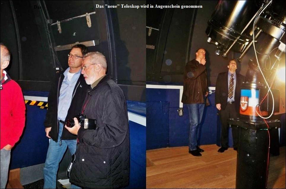 40 Jahre Sternwarte Neumünster und First Light 19 Zoll Teleskop Kollage 5 JPG