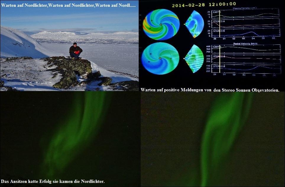 Aurora Reise nach Kiruna Jens und Reinhard