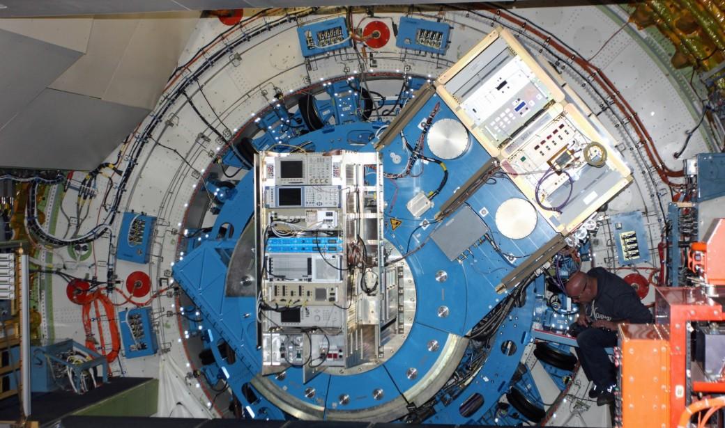 Das Teleskop im Einsatz