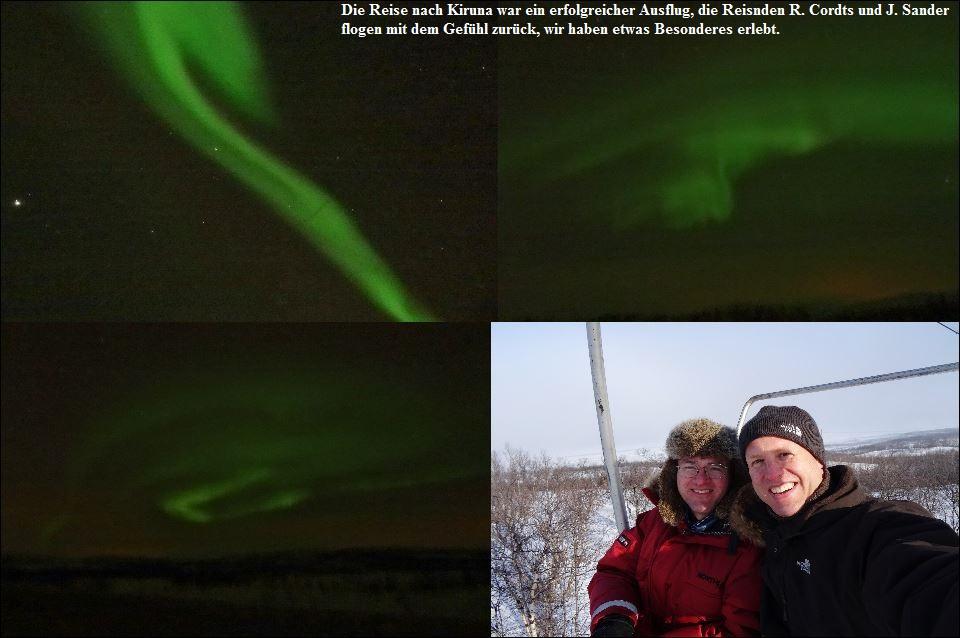 Jens und Reinhard in Koruna