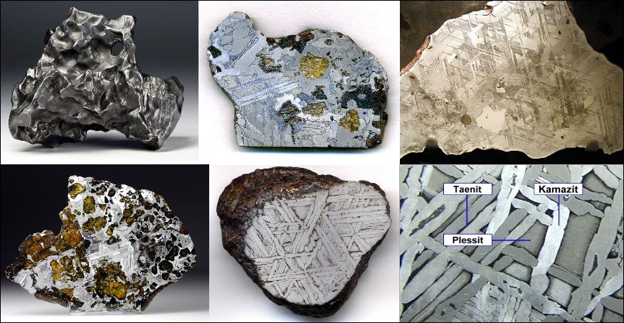 Meteoriten Sortiment