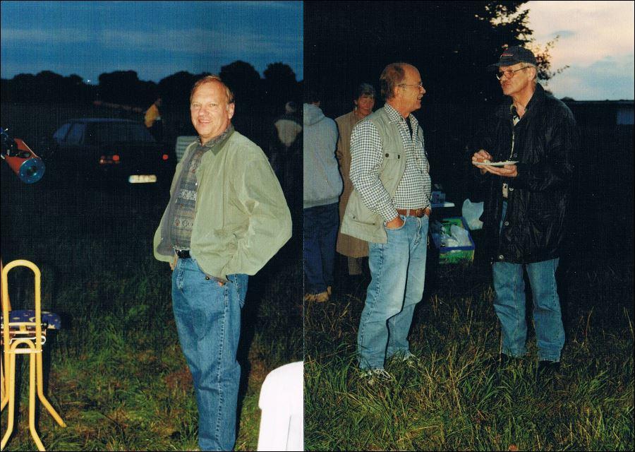 Perseiden Beobachtung 13.08.2001 neben dem Fluoplatz 3