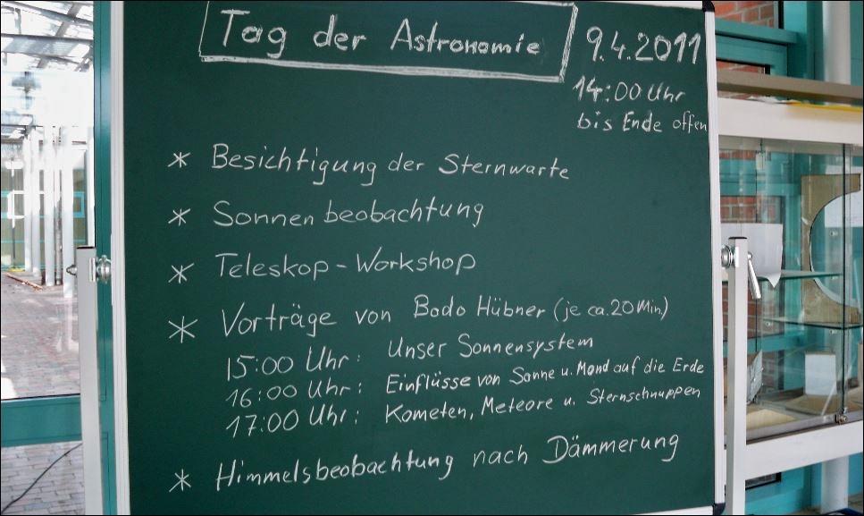 Tag der Astronomie 09.04.2011 1