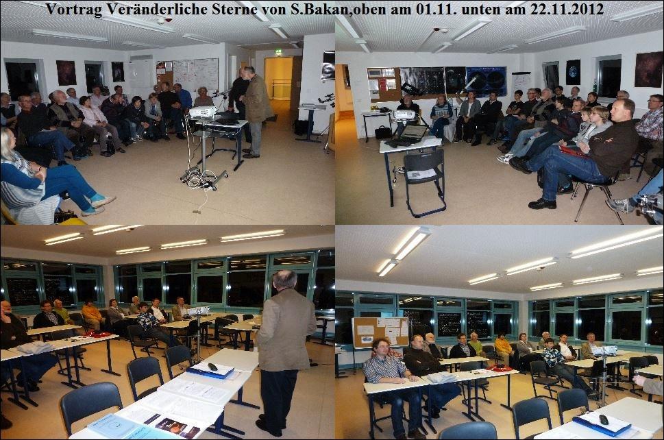 Vortrag Veränderliche s.Bakan 01. und 22.11.2012
