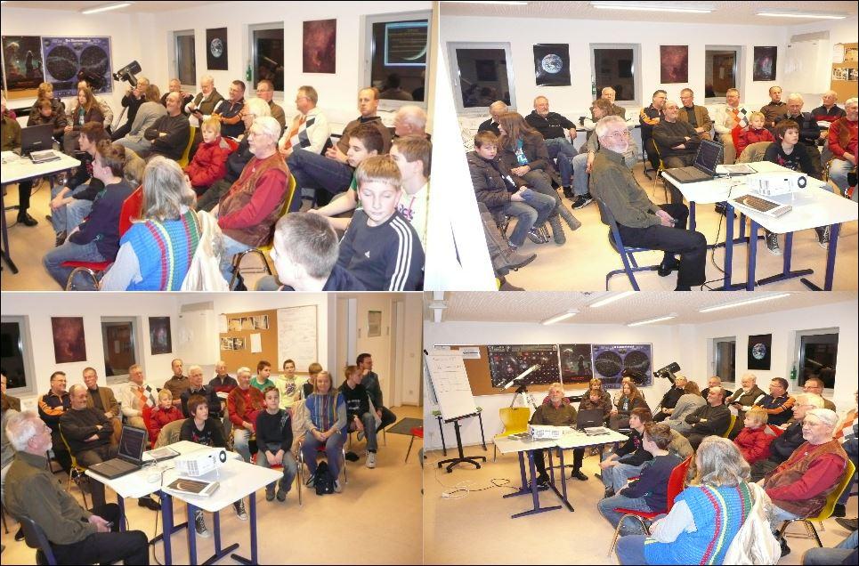 Vortrag von K. Engeldinger 25.11.2010 über den Mond von vor 300 Jahren und Heute