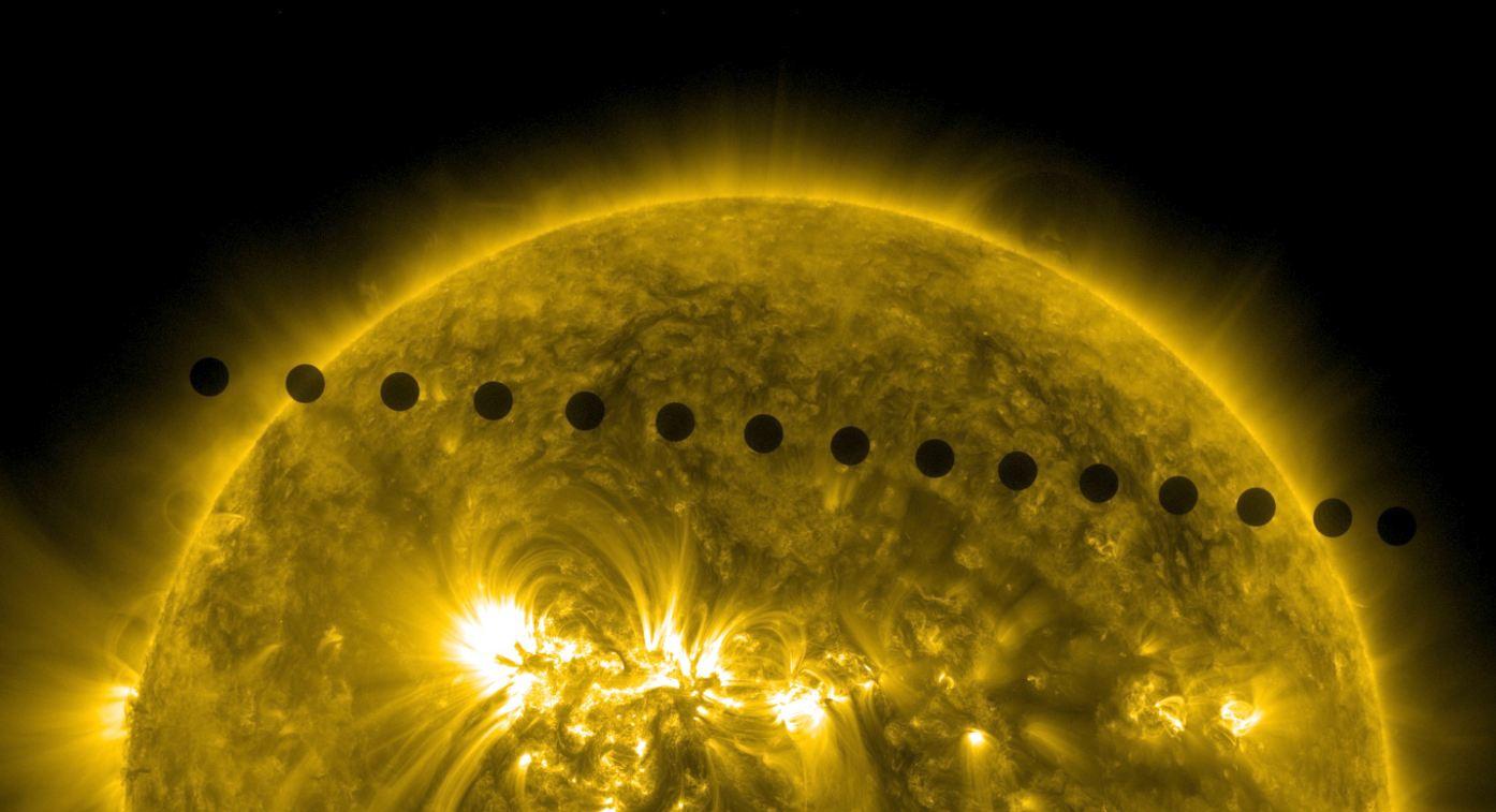 23-Venus Transitam 06.06.2012 Nasa Soho Foto