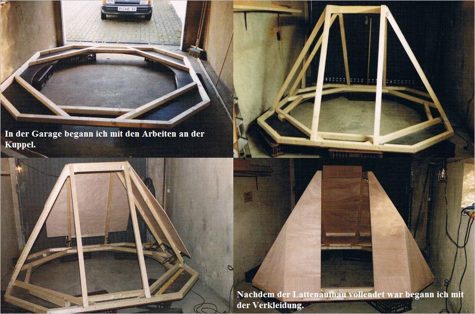Bau der Sternwarte B. Hübner 3