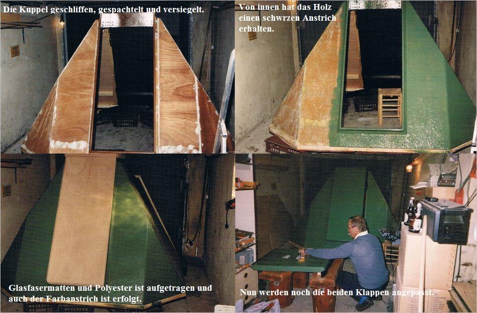 Bau der Sternwarte B. Hübner 4