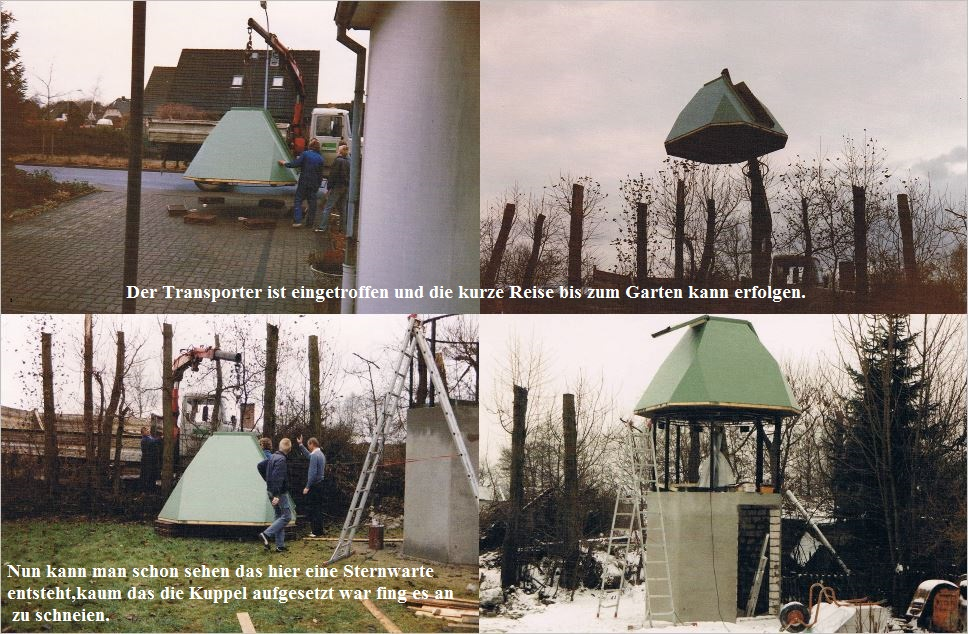 Bau der Sternwarte B. Hübner 6