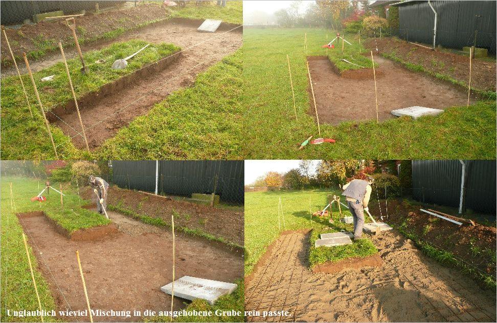 Bau der Sternwarte J. Sander in Peissen 2
