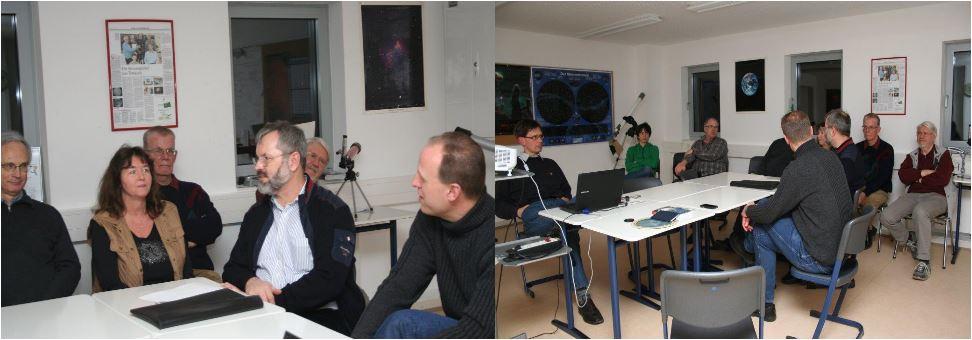 Besuch Herr Kohls Lehrer vom Elsensee Gymnasium am 07.03.2013