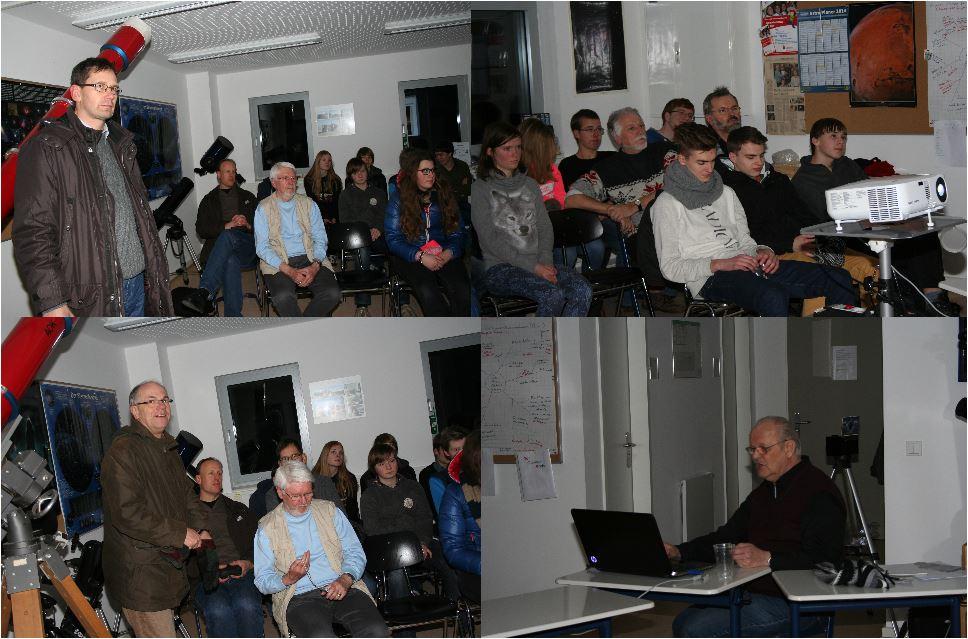Besuch der Physikklasse vom Elsensee Gymnasium am 30.01.2014 III