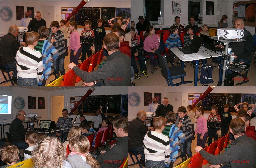 Besuch der Schwennesen Schule am 23.01.2014 II