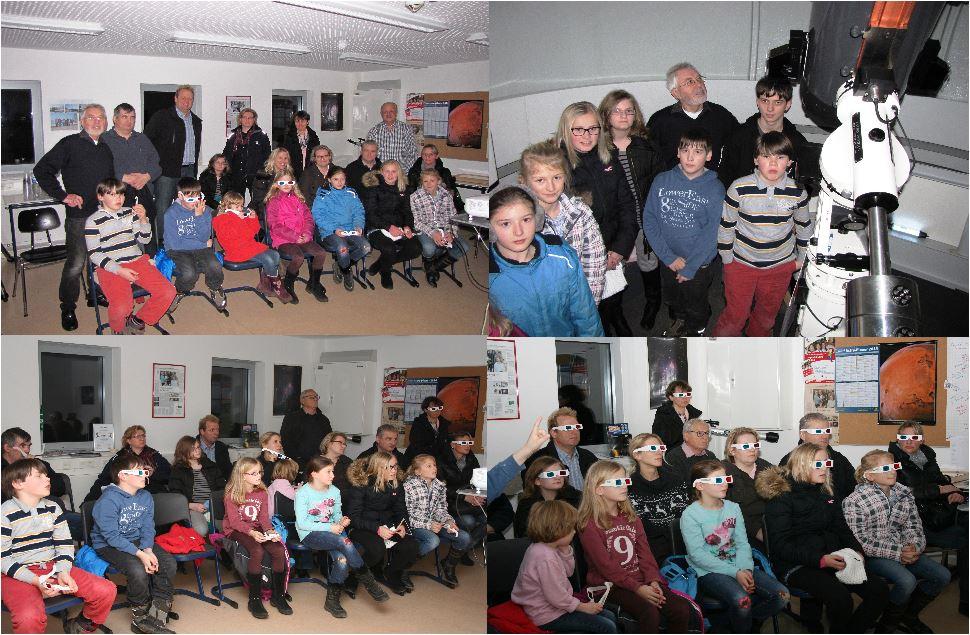 Besuch vom Elsensee Gymnasium am 02.01.2014