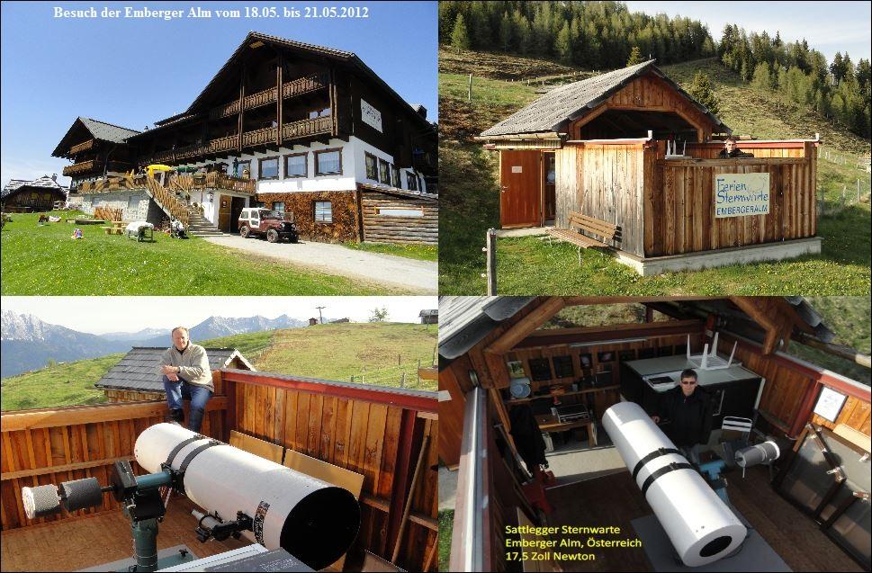 Emberger Alm Besuch vom 18. bis 21.05.2012