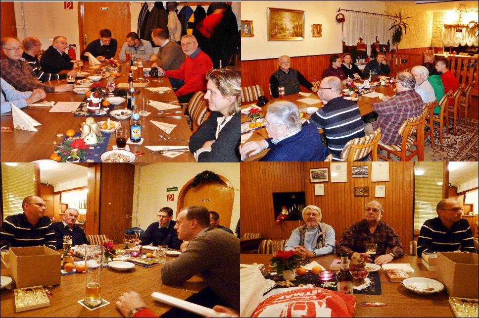 Stammtisch Weihnachts Feier 13.12.2012 2