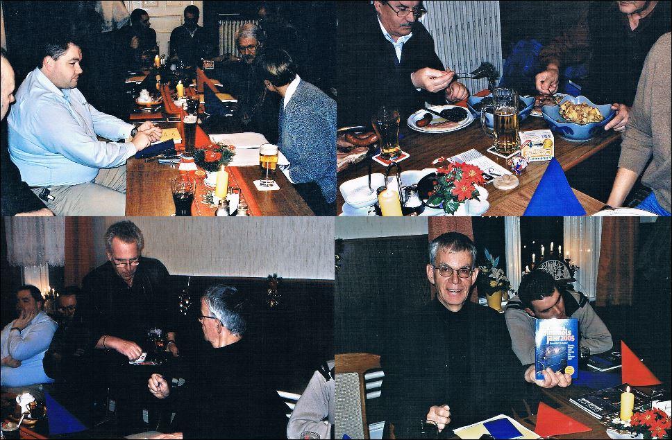 Stammtisch Weihnachtsfeier 16.12.2004