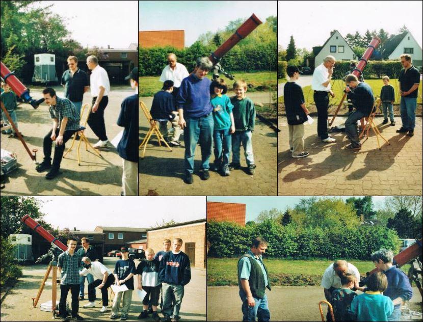 Venustransit am 08.06.2004 in Heidgraben bei Olaf