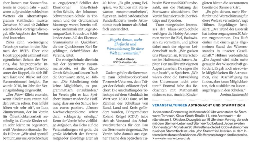 Bericht PI-Tageblatt II