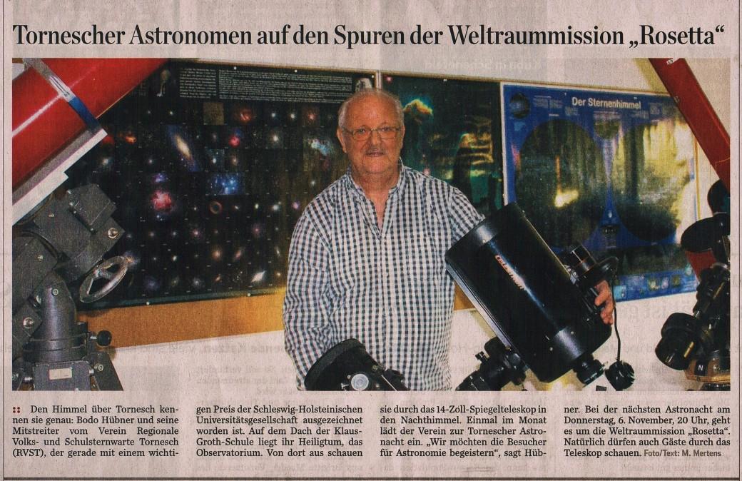 Pinnberger Zeitung vom WE 1.- 2. 11 2014