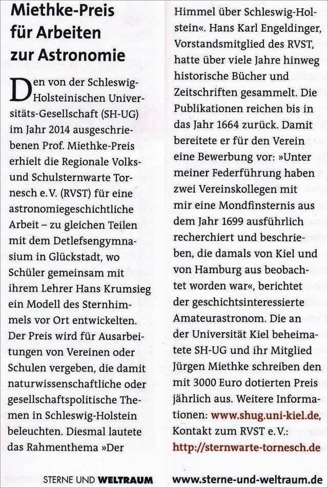 Prof. Miethke Preis in SuW neu