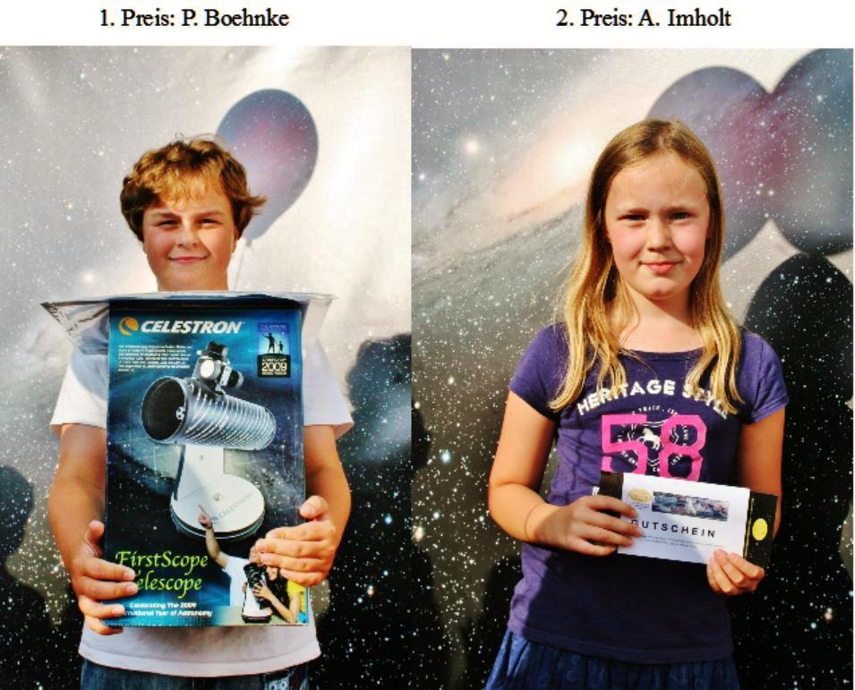 Stadtfest Quiz, 1. und 2. Preis