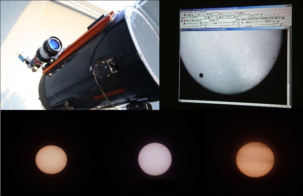 4- Venustransit am 06.06.2012